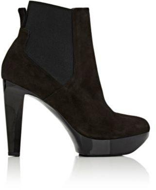 Robert Clergerie Women's Tonita Platform Ankle Boots-BLACK $675 thestylecure.com