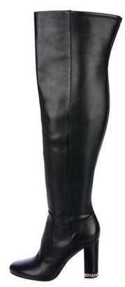 MICHAEL Michael Kors Leather Over-The-Knee Boots w/ Tags