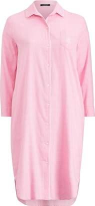 Ralph Lauren Long Twill Night Shirt
