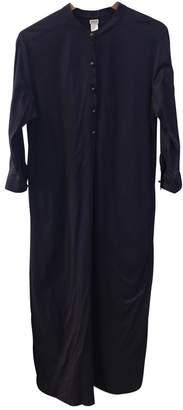 Eres Purple Cotton Dress for Women