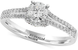 Effy Infinite Love Diamond Engagement Ring (3/4 ct. t.w.) in 18k White Gold