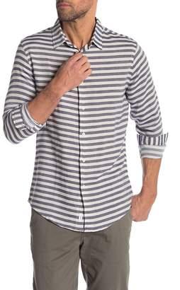 Onia Albert Stripe Slim Fit Shirt