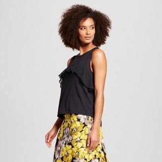 Who What Wear Women's Ruffle Tank - Who What Wear $17.99 thestylecure.com