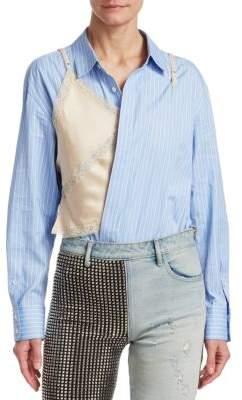 Alexander Wang Hybrid Bodysuit Shirt
