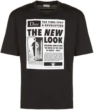 Christian Dior New Look Print T-shirt