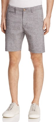 Oxford Lads Chambray Slim Fit Shorts $85 thestylecure.com