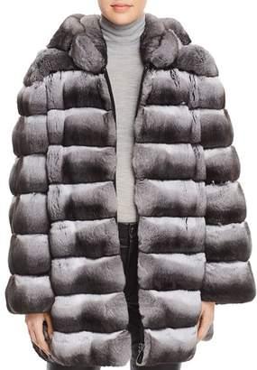 Maximilian Furs Hooded Chinchilla Fur Coat - 100% Exclusive