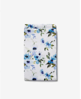 Express floral cotton pocket square