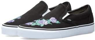 Vans Classic Slip On Rose Thorns