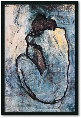 """Amanti Art """"Blue Nude"""" Framed Wall Art by Pablo Picasso"""
