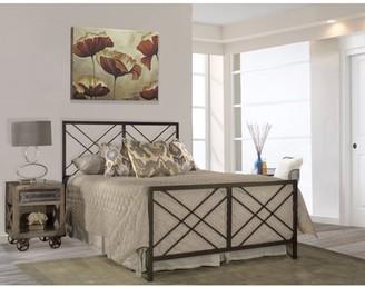 Hillsdale Furniture Westlake Bed with Metal Frame, Multiple Sizes
