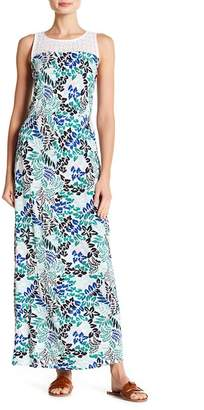Joe Fresh Crochet Lace Yoke Maxi Dress