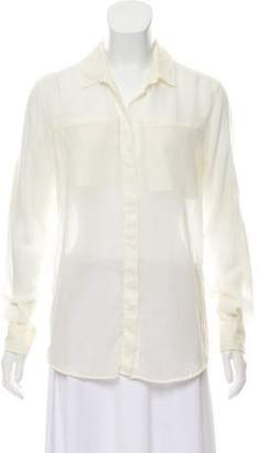 IRO Wool Button-Up Top