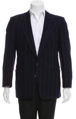 Givenchy Vintage Striped Wool Blazer