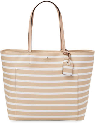 Kate Spade Hyde Lane Stripe Riley Tote