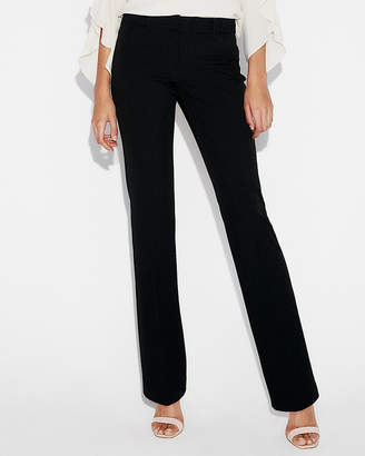 Express Low Rise Barely Boot Pinstripe Editor Pant