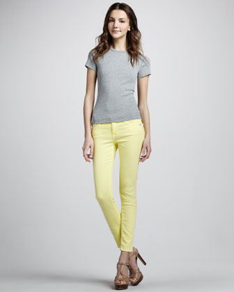 AG Adriano Goldschmied Skinny Canary Ankle Jeans
