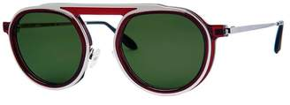 Thierry Lasry burgundy ghosty sunglasses