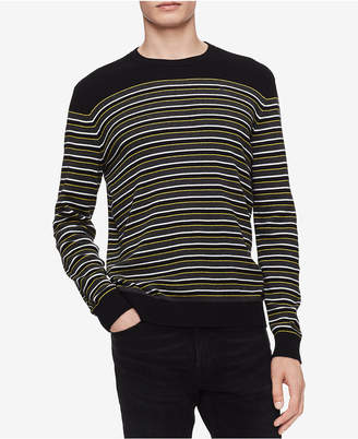 Calvin Klein Men Striped Sweater