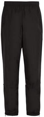 Acne Studios Nylon Track Pants - Mens - Black