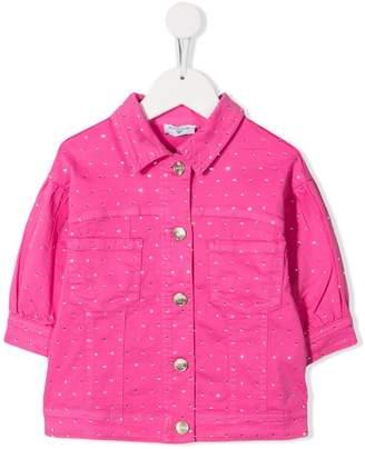 MonnaLisa gem embellished shirt