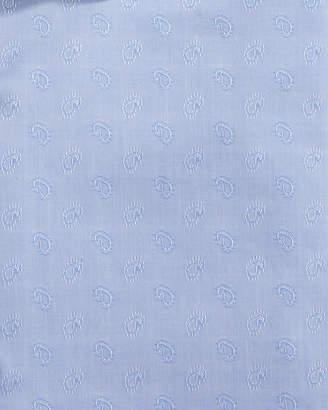 Neiman Marcus Trim-Fit Regular-Finish Paisley-Print Dress Shirt