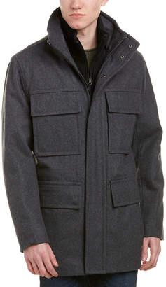Andrew Marc Bevy Wool-Blend Coat