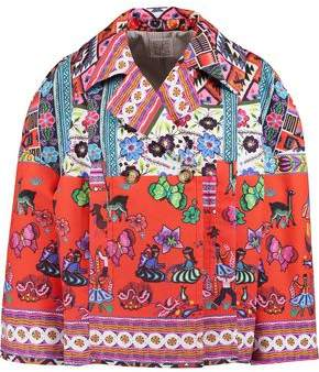 Stella Jean Printed Cotton Jacket