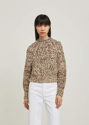 Isabel Marant Wenji Loose Knit Pullover Sweater