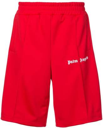 Palm Angels logo shorts