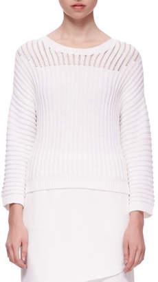 J Brand Marsha Squiggle Knit Sweater