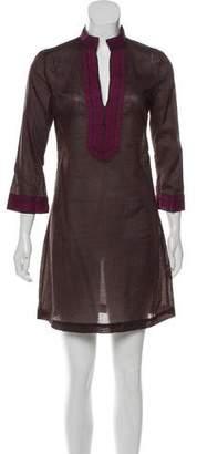Tory Burch Tunic-Style Three-Quarter Sleeve Dress w/ Tags