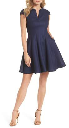 Julia Jordan Fit & Flare Dress
