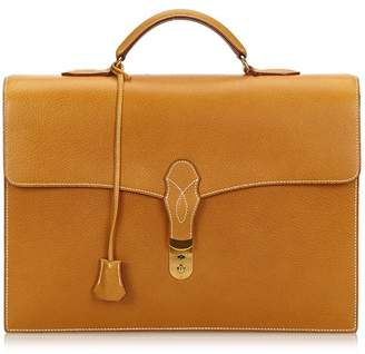 Hermes Vintage Sac A Depeches 38 Briefcase