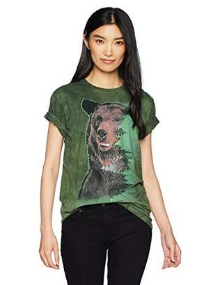 The Mountain Brown Bear Forest Adult Woman's T-Shirt