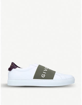 Givenchy Logo Knot leather trainers