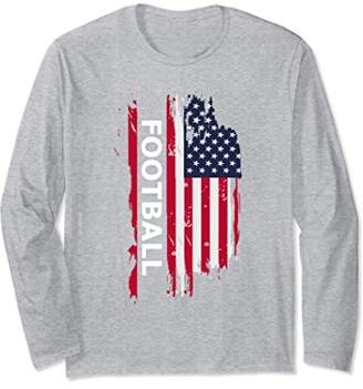 Football Long Sleeve T Shirt