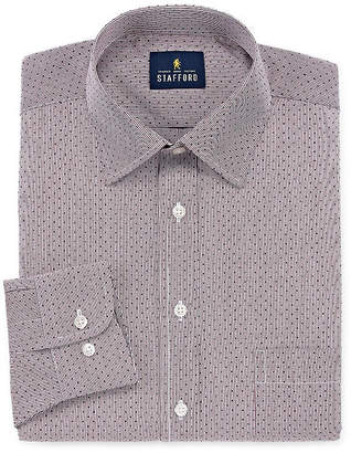 STAFFORD Stafford Men's Regular-Fit Easy-Care Stretch Dress Shirt