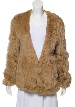 Pologeorgis Knitted Fur Jacket