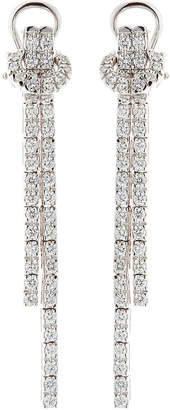 Neiman Marcus Diamonds 14k White Gold Diamond Dangle Earrings, 2.0tcw