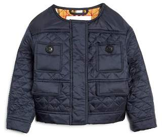Burberry Girls' Mini Tollamo Quilted Jacket - Little Kid, Big Kid