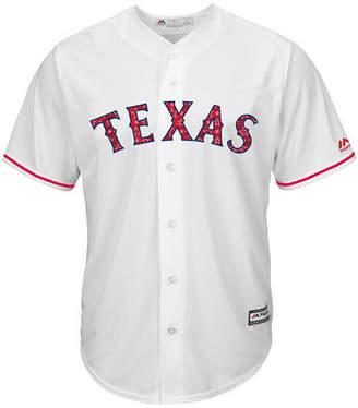 Majestic Men Texas Rangers Stars & Stripes Cool Base Jersey
