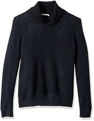 Vince Men's Thermal Cashmere Shawl Collar Pullover Sweater