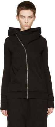Rick Owens Drkshdw Black Mountain Hoodie $700 thestylecure.com