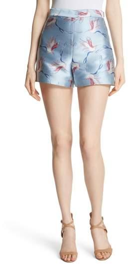 Heath Bird Print Shorts