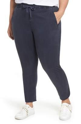 Caslon R Sandwash Pull-On Pants