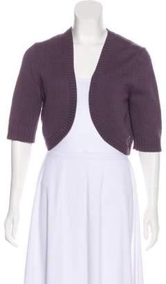 Michael Kors Three-Quarter Sleeve Knit Cardigan