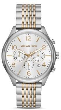 Michael Kors Merrick Two-Tone Chronograph, 42mm