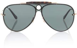 Ray-Ban Blaze Runner aviator sunglasses