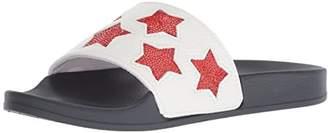 Kenneth Cole Reaction Women's Pool Spash Stars Slide Sandal